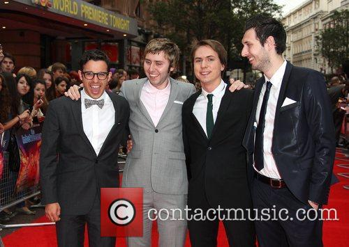 Simon Bird, Blake Harrison, James Buckley and Joe Thomas 2