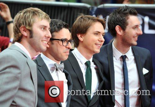 Simon Bird, Blake Harrison, James Buckley and Joe Thomas 6