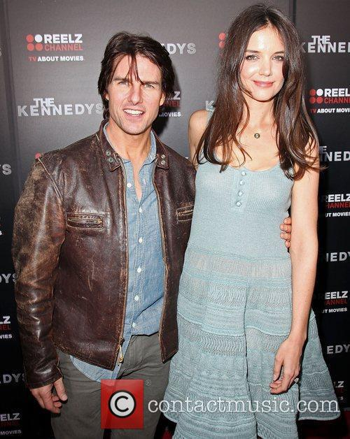 Tom Cruise and Katie Holmes World Premiere of...