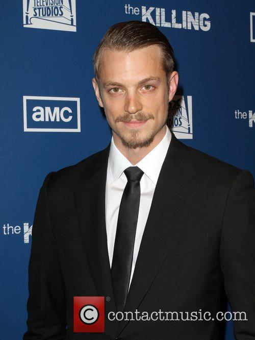 Joel Kinnaman at The Killing premiere