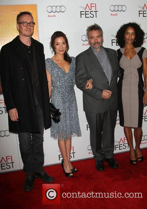 David Thewlis, Luc Besson, Michelle Yeoh and Grauman's Chinese Theatre 3