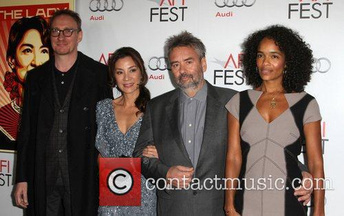 David Thewlis, Luc Besson, Michelle Yeoh and Grauman's Chinese Theatre 6