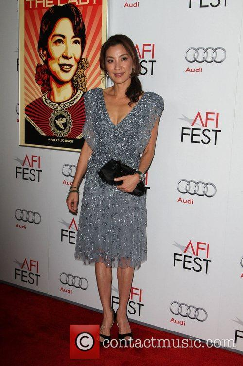 Michelle Yeoh and Grauman's Chinese Theatre 5