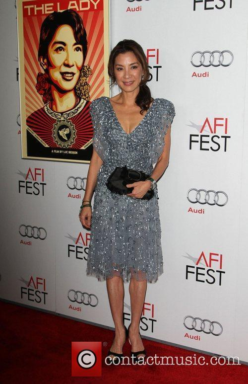 Michelle Yeoh and Grauman's Chinese Theatre 3