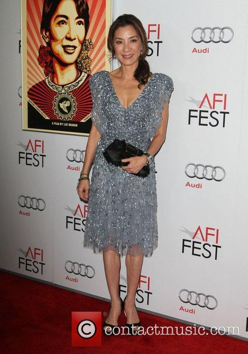 Michelle Yeoh and Grauman's Chinese Theatre 8