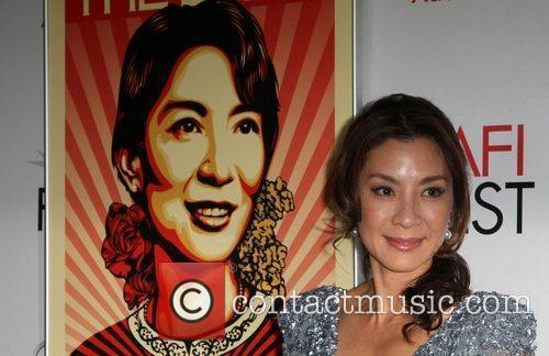 Michelle Yeoh and Grauman's Chinese Theatre 10