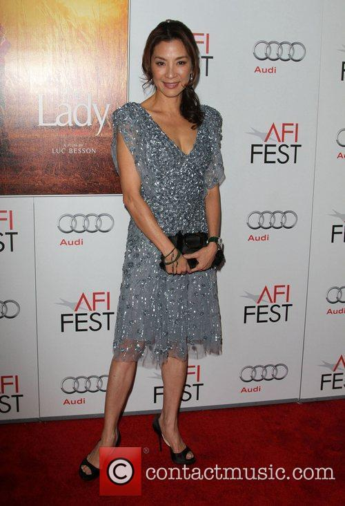 Michelle Yeoh and Grauman's Chinese Theatre 2