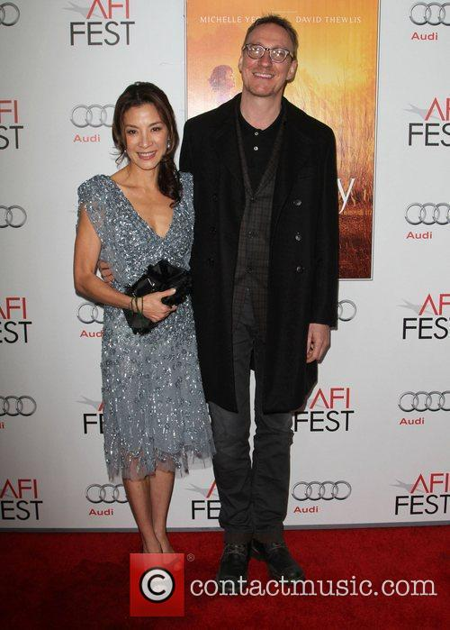Michelle Yeoh, David Thewlis and Grauman's Chinese Theatre 11
