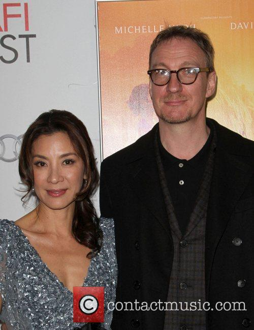 Michelle Yeoh, David Thewlis and Grauman's Chinese Theatre 4