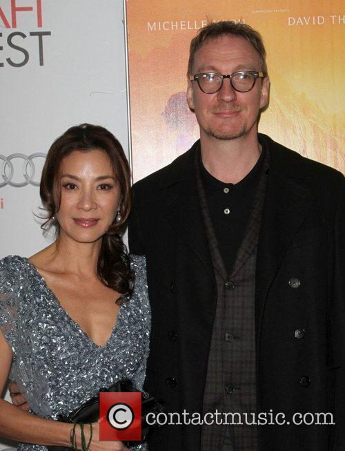 Michelle Yeoh, David Thewlis and Grauman's Chinese Theatre 1