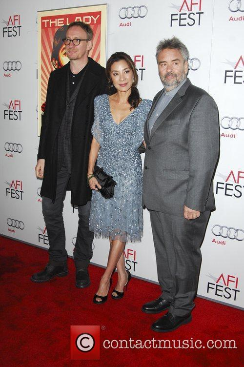 David Thewlis, Luc Besson, Michelle Yeoh and Grauman's Chinese Theatre 8