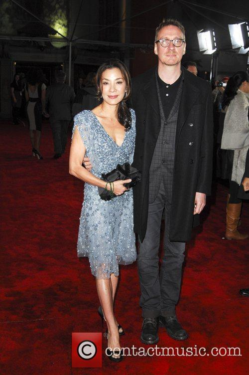 Michelle Yeoh, David Thewlis and Grauman's Chinese Theatre 2