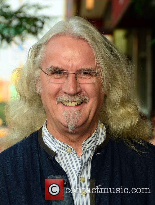 Billy Connoly at the Cinema Society & Grey...