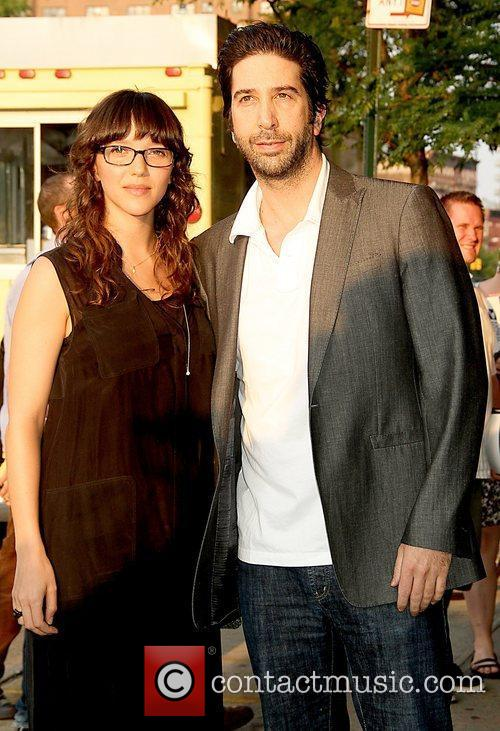 Zoe Buckman, David Schwimmer Cinema Society & Grey...