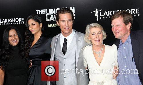 Camila Alves, Matthew Mcconaughey and Rooster