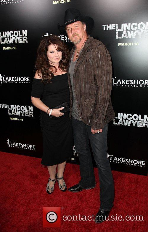 Rhonda Adkins and Trace Adkins Screening Of Lionsgate...
