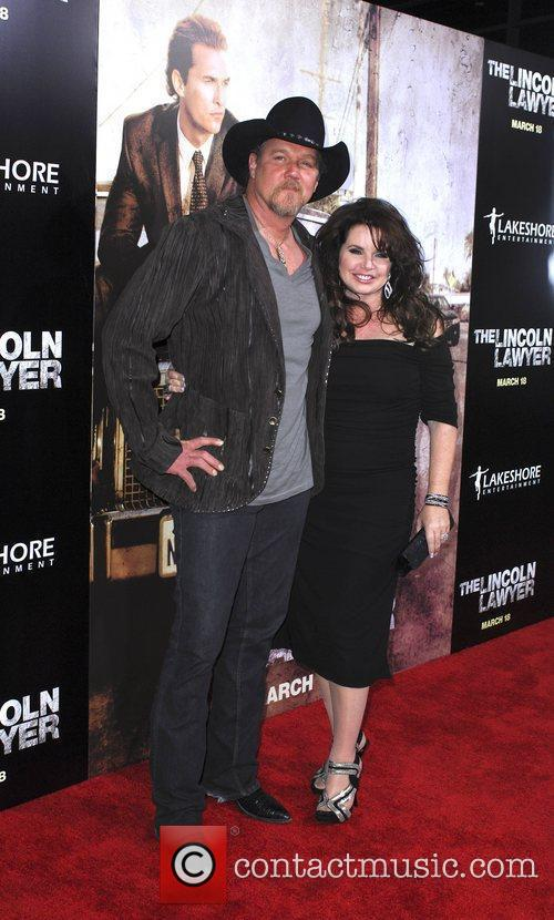 Trace Adkins, wife  Screening Of Lionsgate &...