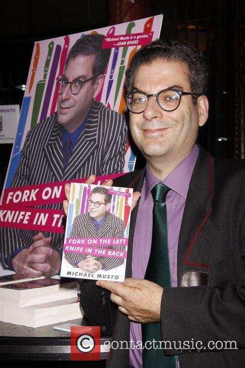 Michael Musto  promotes his new book 'Fork...