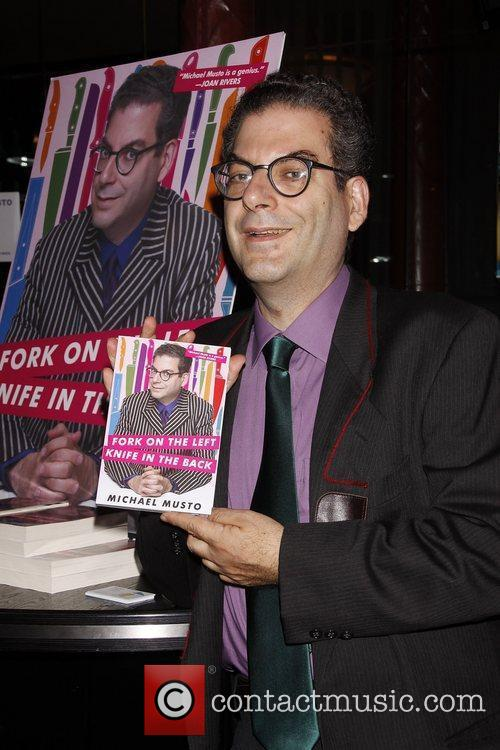 Promotes his new book 'Fork On The Left,...