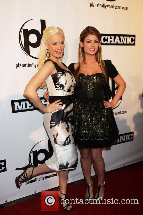 Holly Madison, Laura Croft Las Vegas Premiere of...