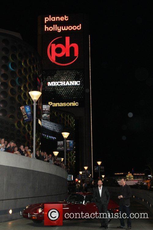 Jason Statham, Las Vegas, Planet Hollywood