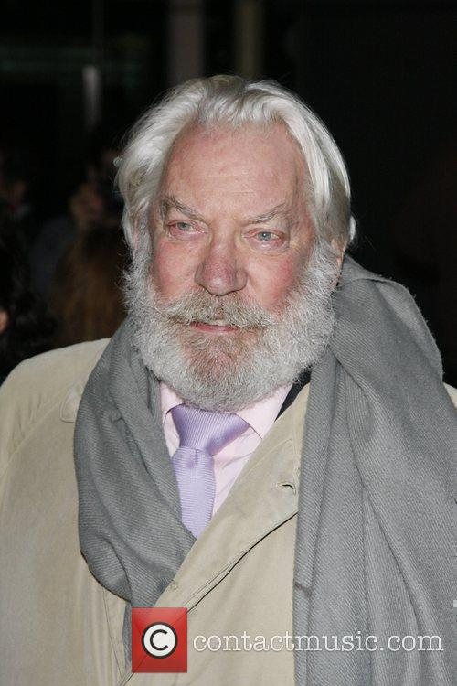 Donald Sutherland The Los Angeles Premiere of 'The...