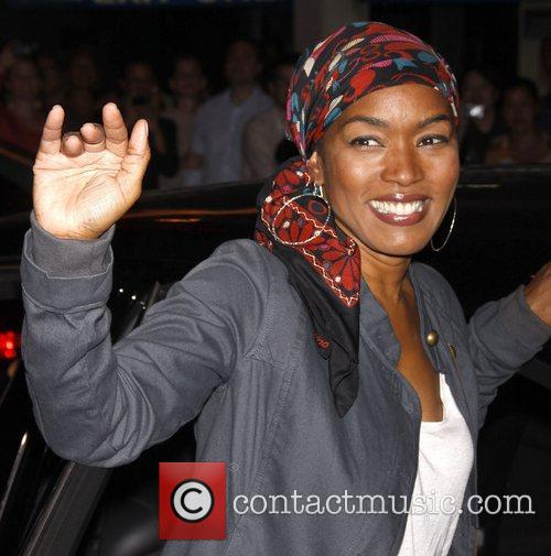 Angela Bassett The first preview of the Broadway...