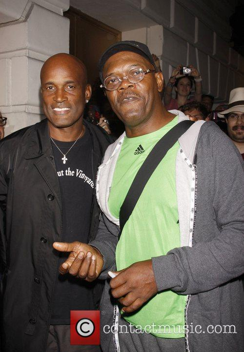 Kenny Leon and Samuel L. Jackson The first...