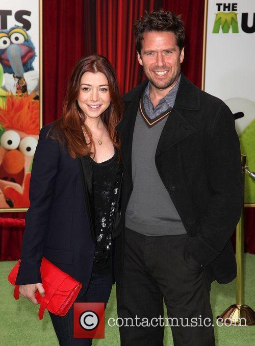 Actors Alyson Hannigan (L) and Alexis Denisof The...