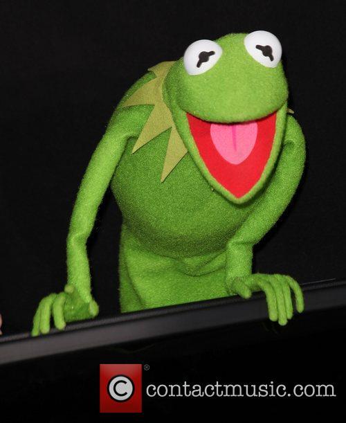 Kermit The Frog The premiere of Walt Disney...
