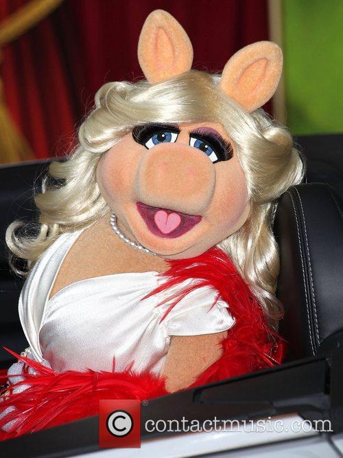 Miiss Piggy The premiere of Walt Disney Pictures'...