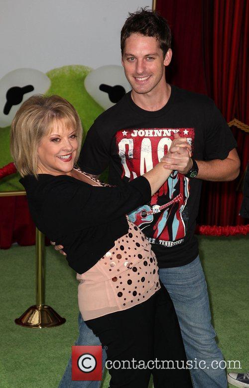 Nancy Grace and Tristan MacManus The premiere of...