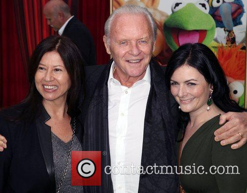 Sir Anthony Hopkins The premiere of Walt Disney...