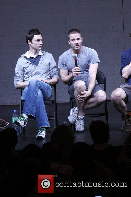 Jim Parsons and Luke Macfarlane Post-show talk back...