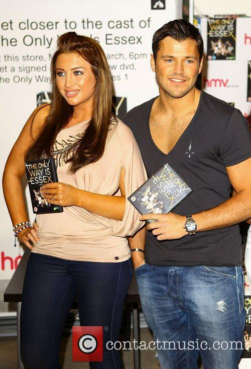 Lauren Goodger, Mark Wright 'The Only Way Is...