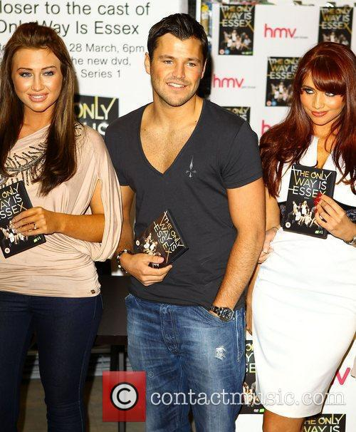 Lauren Goodger, Mark Wright, Amy Childs 'The Only...