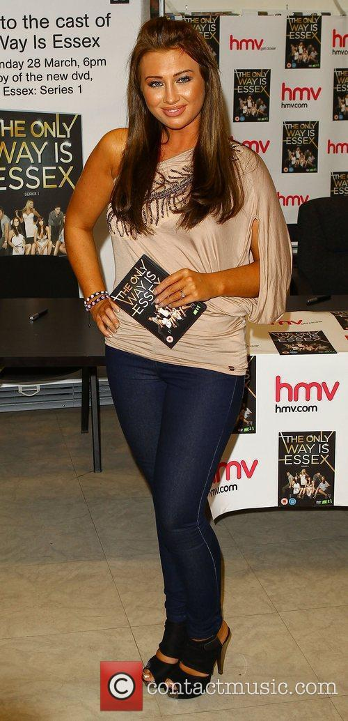 Lauren Goodger 'The Only Way Is Essex' cast...