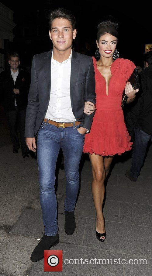 Chloe Simms and Joey Essex at The Only...