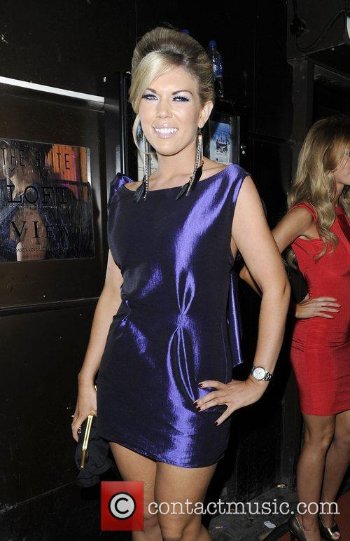 Frankie Essex at The Only Way Is Essex:...