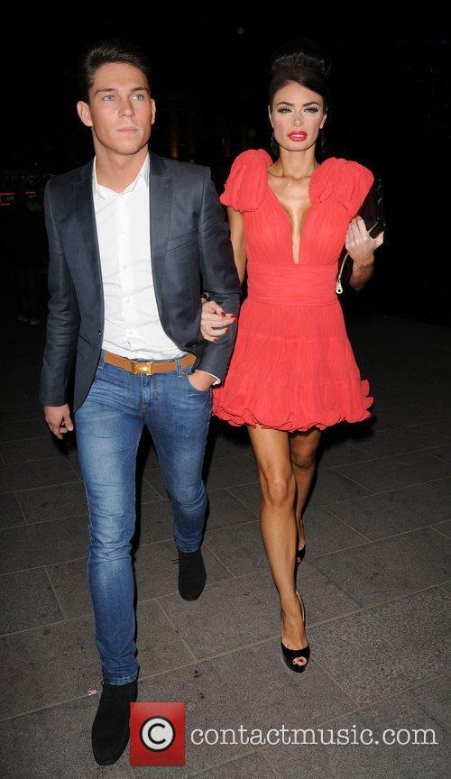 Chloe Simms and Joey Essex  at The...