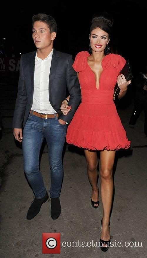 Joey Essex and Chloe Simms at The Only...