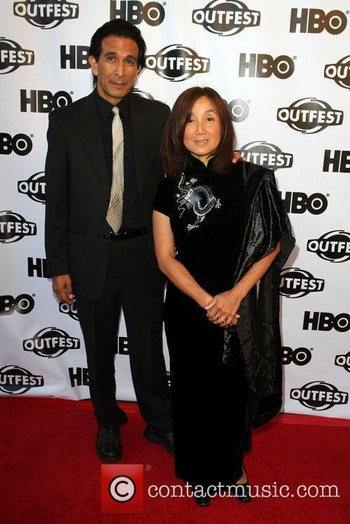 Gregory Zaragoza and Guest 2011 Outfest Film Festival...