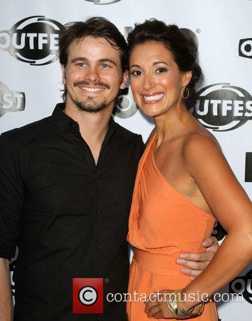 Jason Ritter, Angelique Cabral 2011 Outfest Film Festival...