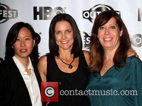 Kim Yutani, Anne Renton, Kirsten Schaffer 2011 Outfest...