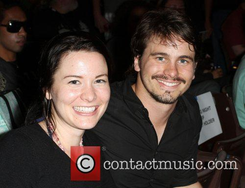 Jason Ritter with his sister 2011 Outfest Film...