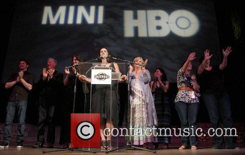 Anne Renton, Connie Cummings and Crew 2011 Outfest...