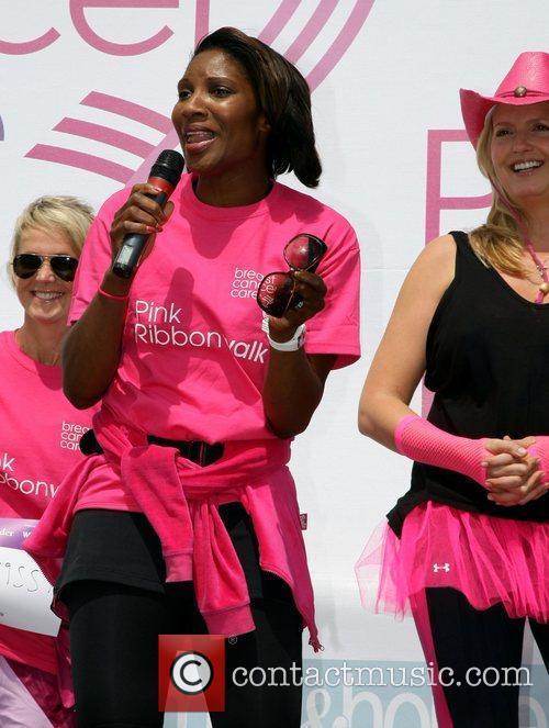 Denise Lewis Pink Ribbonwalk 2011 in aid of...