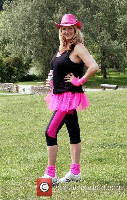 Penny Lancaster  Pink Ribbonwalk 2011 in aid...