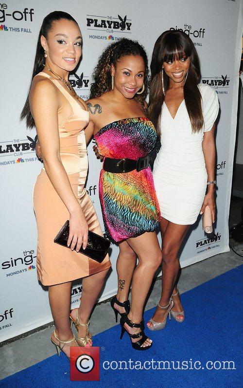 Chanta Patton, Tiffany Davis and Dominique Day...