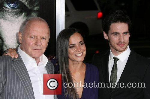 Anthony Hopkins, Alice Braga